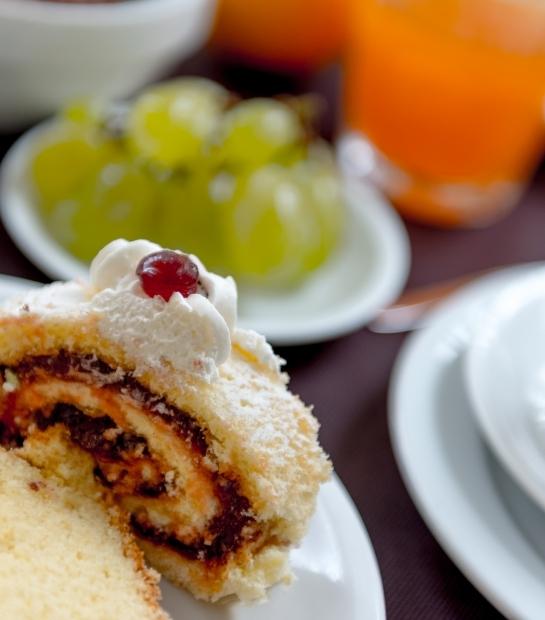 Delizioso trancio di torta
