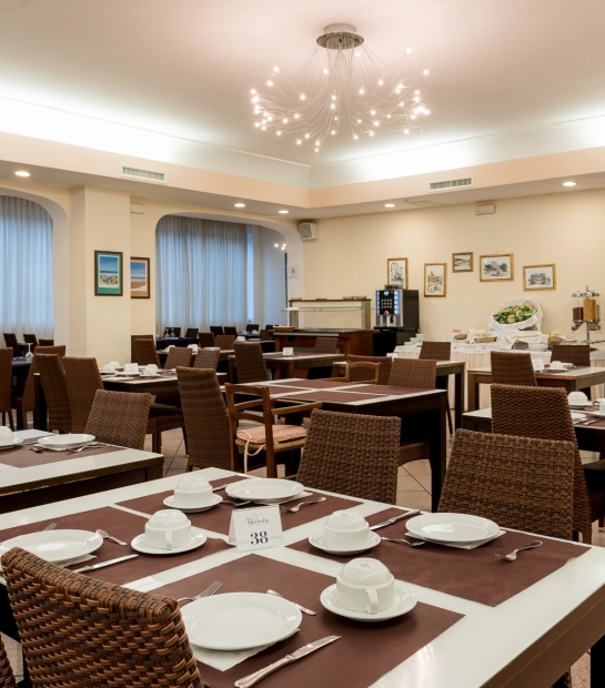 Sala colazione del Maritalia