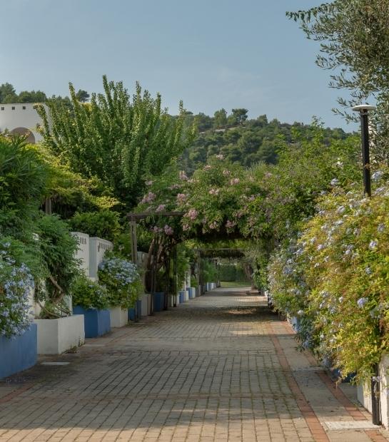 L'ambiente mediterraneo del villaggio Maritalia