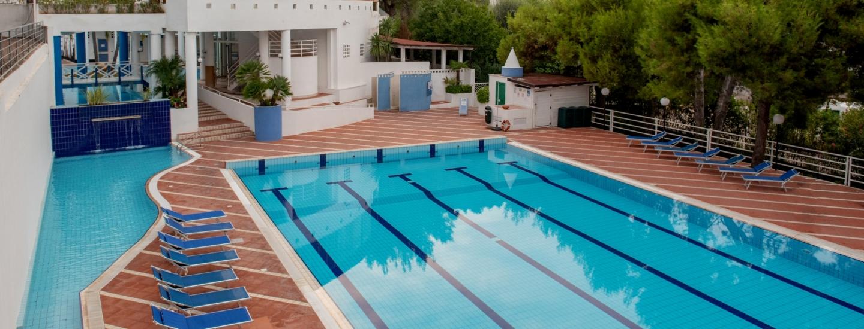 Piscina olimpica dell'Hotel Club Village
