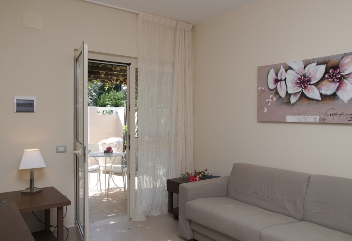 Suite con ingresso giardino